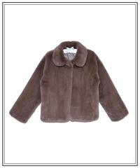 short eco far coat