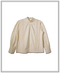 lase long cuffs blouse〈M00-B011〉