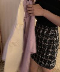 ツイードスカート M01-SK008