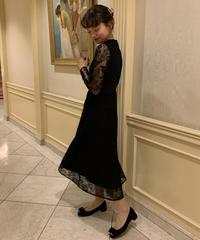 lace detail dress〈M01-O015〉