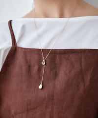 【2021.7.15(Thu)21:00-PRE-ORDER】Initial Plate Necklace