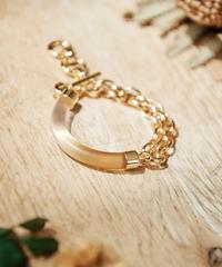 【2021.7.15(Thu)21:00-PRE-ORDER】Clear Gradation Bracelet (thin ver. Yellow)