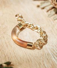 【2021.7.15(Thu)21:00-PRE-ORDER】Clear Gradation Bracelet(Brown)