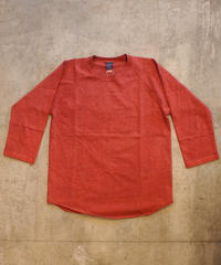 """GOOD ON"" Baseball Tee[P-Dark Orange]"