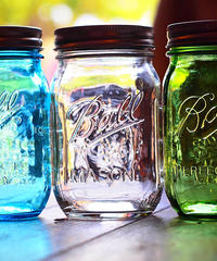 """ Ball "" 32oz Mason Jar Wide Mouth"