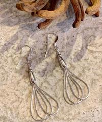 """NAVAJO""Silver Beads Earring"