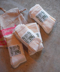 """ORGANIC THREDS"" Regular Crew 3P Socks"