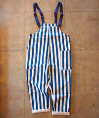 """COOKMAN"" Fisherman's Bib Overall[Stripe/NAVY]"