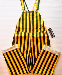"""GAME BIBS"" Wide Stripe Over All"