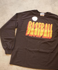 "Limited!! ""JHANKSON"" Baseball Long Sleeve Tee"