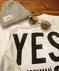 """COOKMAN""T-shirts 「YES」"
