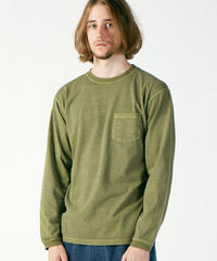 """GOOD ON"" Long Sleeve Pocket Crew Tee"