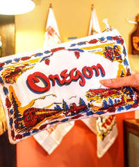 """""""RED and WHITE Kitchen Company"""" Map Pouch[OREGON]"""