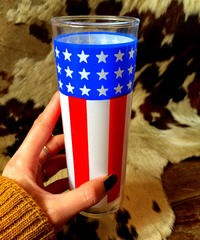 Stars&Stripes Glass[アメリカ買付]