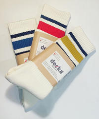 """decka""80's Skeater Socks"