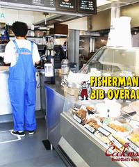 """COOKMAN""Fisherman's Bib Overall [Deep Blue]"