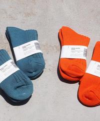 """""""decka quality socks""""Low Gauge Rib Socks(Short Length)"""