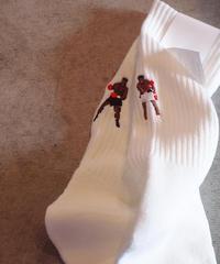 decka Quality socks by BRÚ NA BÓINNE Pile Socks / Embroidery / MM