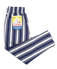 """COOKMAN""Chef Pants[Awning Stripe Navy]"