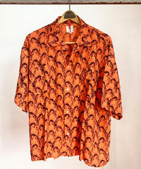 """O.K"" OPPAIIPPAI WIDEシルエットS/S-SHIRTS[Orange]"
