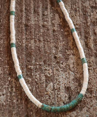 """SANT DOMINGO"" Jewelry Heishi Necklace"