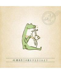 月刊謎解き郵便『ある友人からの手紙』#8標本作りの旅をするカエルより