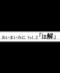 あいまいみに Vol.02「in解」