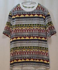 digawel Tribal pattern T-shirtトライバルパターンT(アフリカン