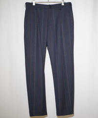 Dry Woolgabardine One Tuck Trousers