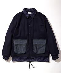 KUON LODEN Layered Jacket