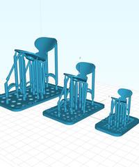 3D model a