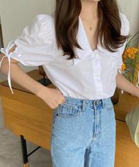 《予約販売》deur ribbon blouse (2color)