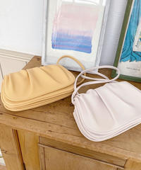 gather shoulder mini bag (2color)