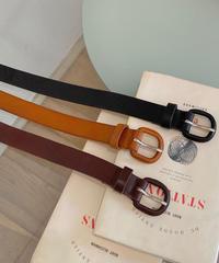 《予約販売》real leather belt (3color)
