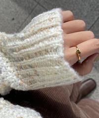 《予約販売》silver925 heart ring (2color)