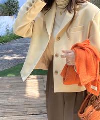 《予約販売》basic short jacket (2color)
