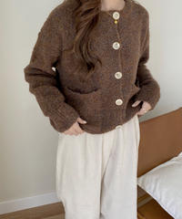 《予約販売》mix pocket cardigan (2color)