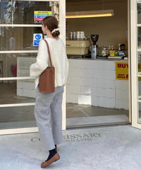 《予約販売》wool lining bending pants (2color)