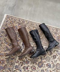 《予約販売》square socks long boots (2color)