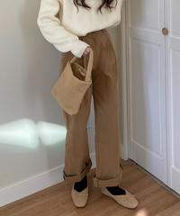 《予約販売》buckle long chino pants (3color)