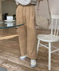 《予約販売》corduroy pending wide pants (4color)