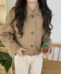 《予約販売》poodle short coat (2color)