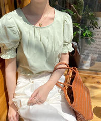 sleeve band blouse (3color)