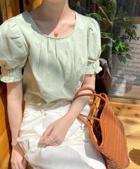 《予約販売》sleeve band blouse (3color)