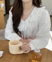 《予約販売》bell  blouse (2color)