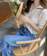 《予約販売》hug frill knit (2color)