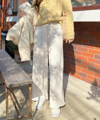 《予約販売》bending pleats pants (3color)