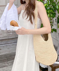 linen flare camisole onepiece (2color)