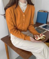 《予約販売》dalgona cropped cardigan