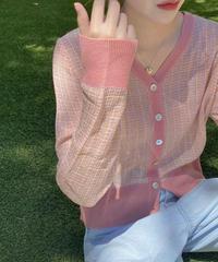 《 restock》 tweed summer cardigan (3color)